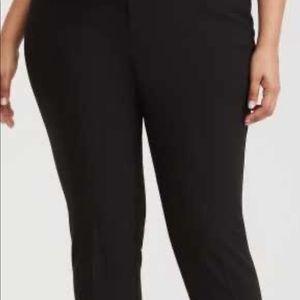 TORRID CROPPED DRESS PANTS